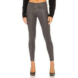 ハドソンジーンズ Hudson Jeans レディース クロップド ボトムス・パンツ【Nico Midrise Super Skinny Ankle】High Shine Dark Slate