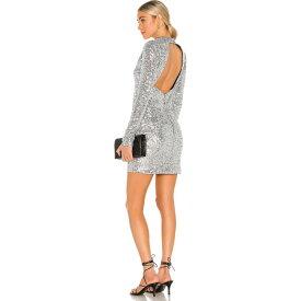 レベッカ ヴァランス Rebecca Vallance レディース ワンピース ミニ丈 ワンピース・ドレス【Gatsby Mini Dress】Silver