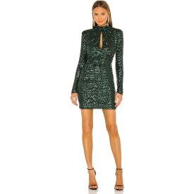レベッカ ヴァランス Rebecca Vallance レディース ワンピース ミニ丈 ワンピース・ドレス【Gatsby Mini Dress】Green