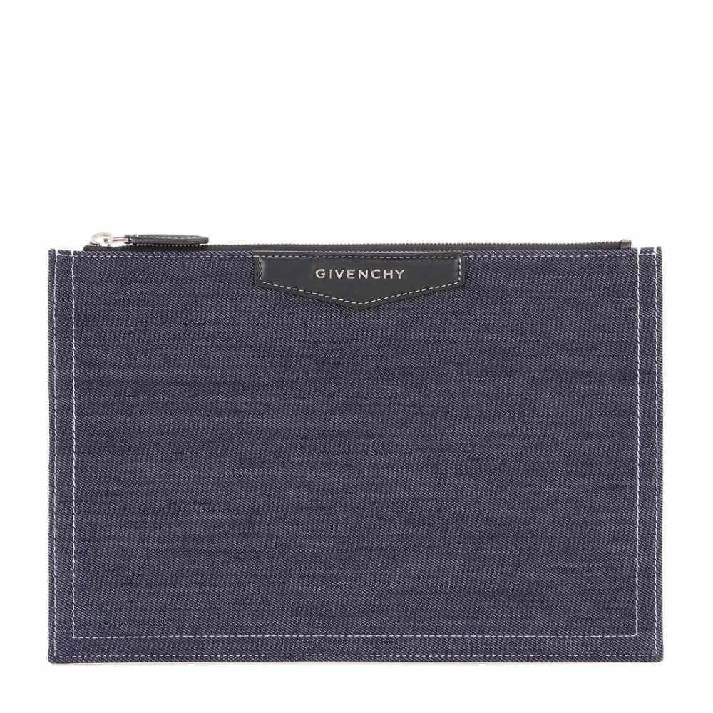 ジバンシー Givenchy レディース バッグ クラッチバッグ【Antigona denim and leather clutch】