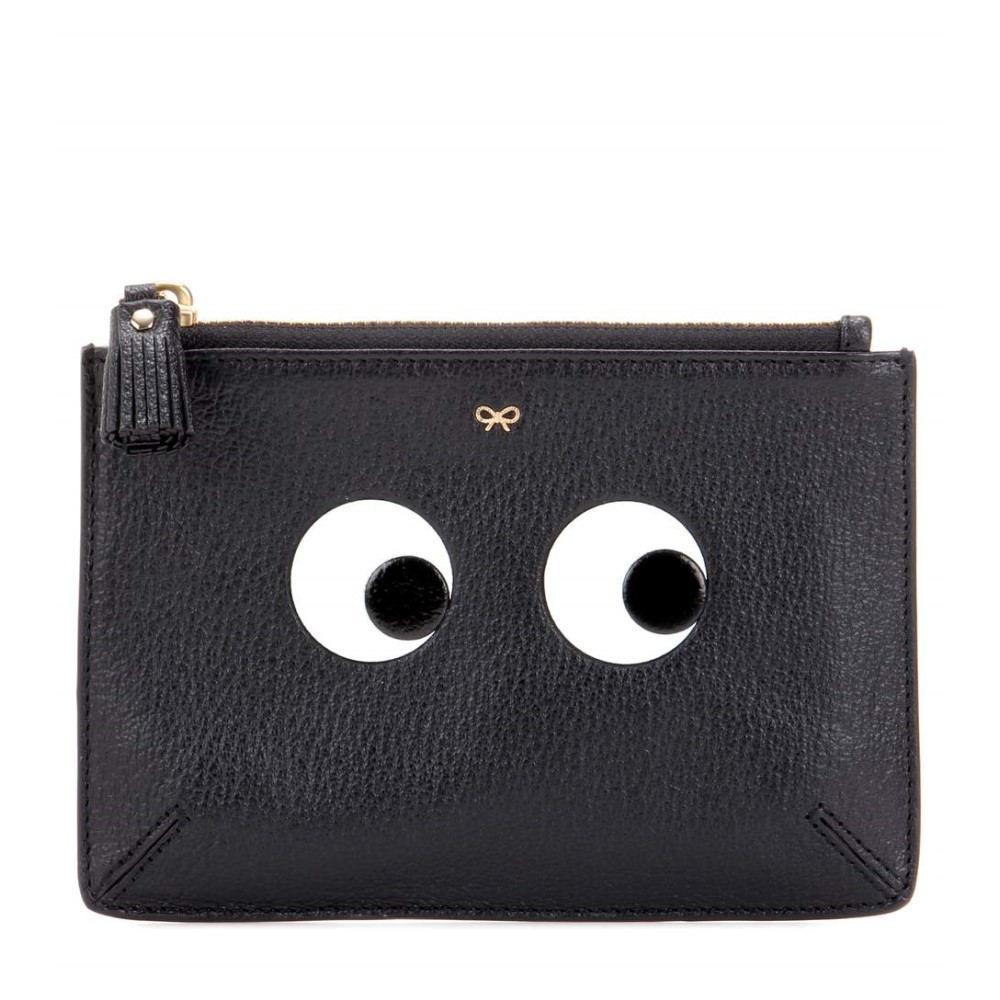 アニヤ ハインドマーチ Anya Hindmarch レディース バッグ ポーチ【Eyes Small Loose Pocket leather pouch】