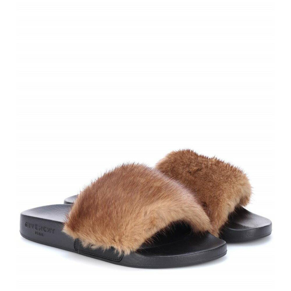 ジバンシー Givenchy レディース シューズ・靴 サンダル【Fur slides】