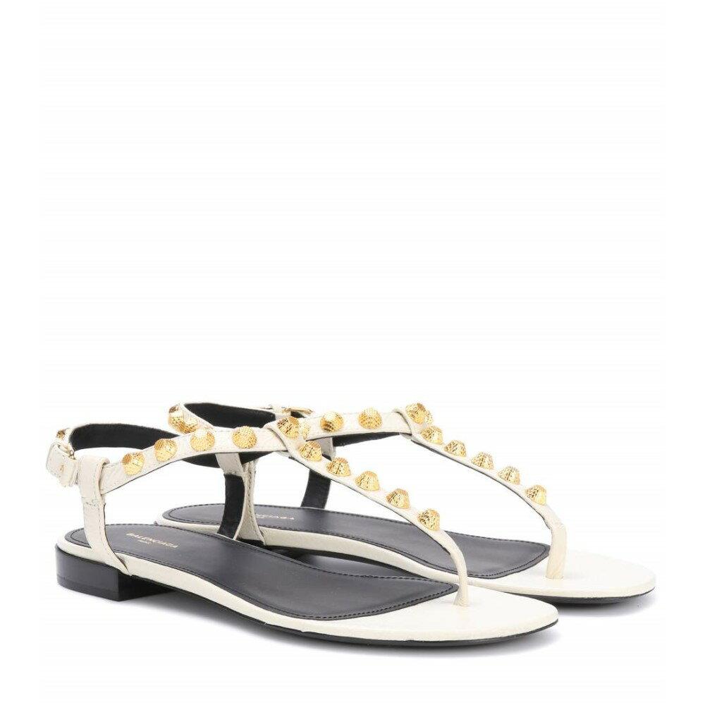 バレンシアガ Balenciaga レディース シューズ・靴 サンダル【Giant Stud leather sandals】