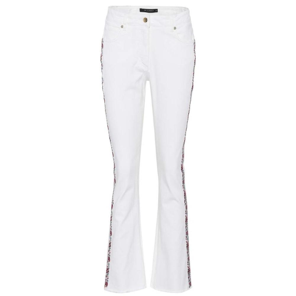 エトロ Etro レディース ボトムス ジーンズ【Embroidered jeans】
