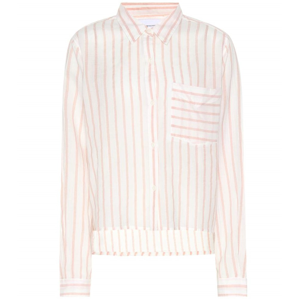 カレント エリオット レディース トップス ブラウス・シャツ【Striped cotton shirt】Gable Stripe
