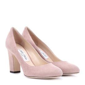 ジミー チュウ レディース シューズ・靴 パンプス【Billie 85 suede pumps】Ballet Pink