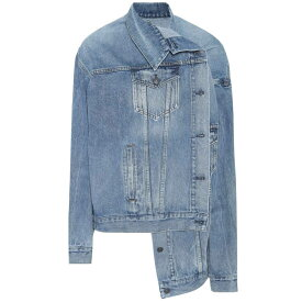 バレンシアガ レディース アウター ジャケット【Denim jacket】Medium Vintage Blue