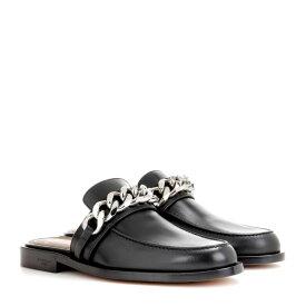 ジバンシー レディース シューズ・靴 ローファー・オックスフォード【Chain leather loafers】Black