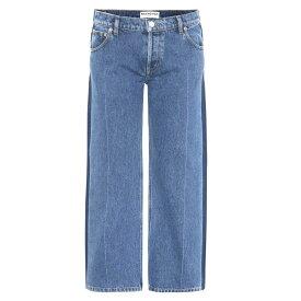バレンシアガ レディース ボトムス・パンツ ジーンズ・デニム【Rockabilly jeans】Stonewash Indigo