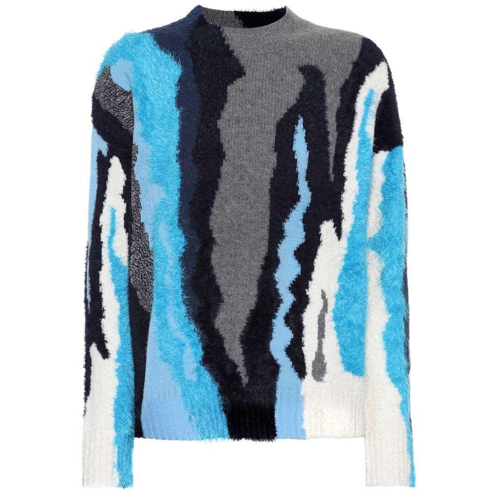 ケンゾー レディース トップス ニット・セーター【Wool-blend sweater】Light blue