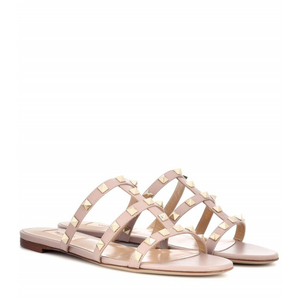 ヴァレンティノ レディース シューズ・靴 サンダル・ミュール【Valentino Garavani Rockstud leather sandals】