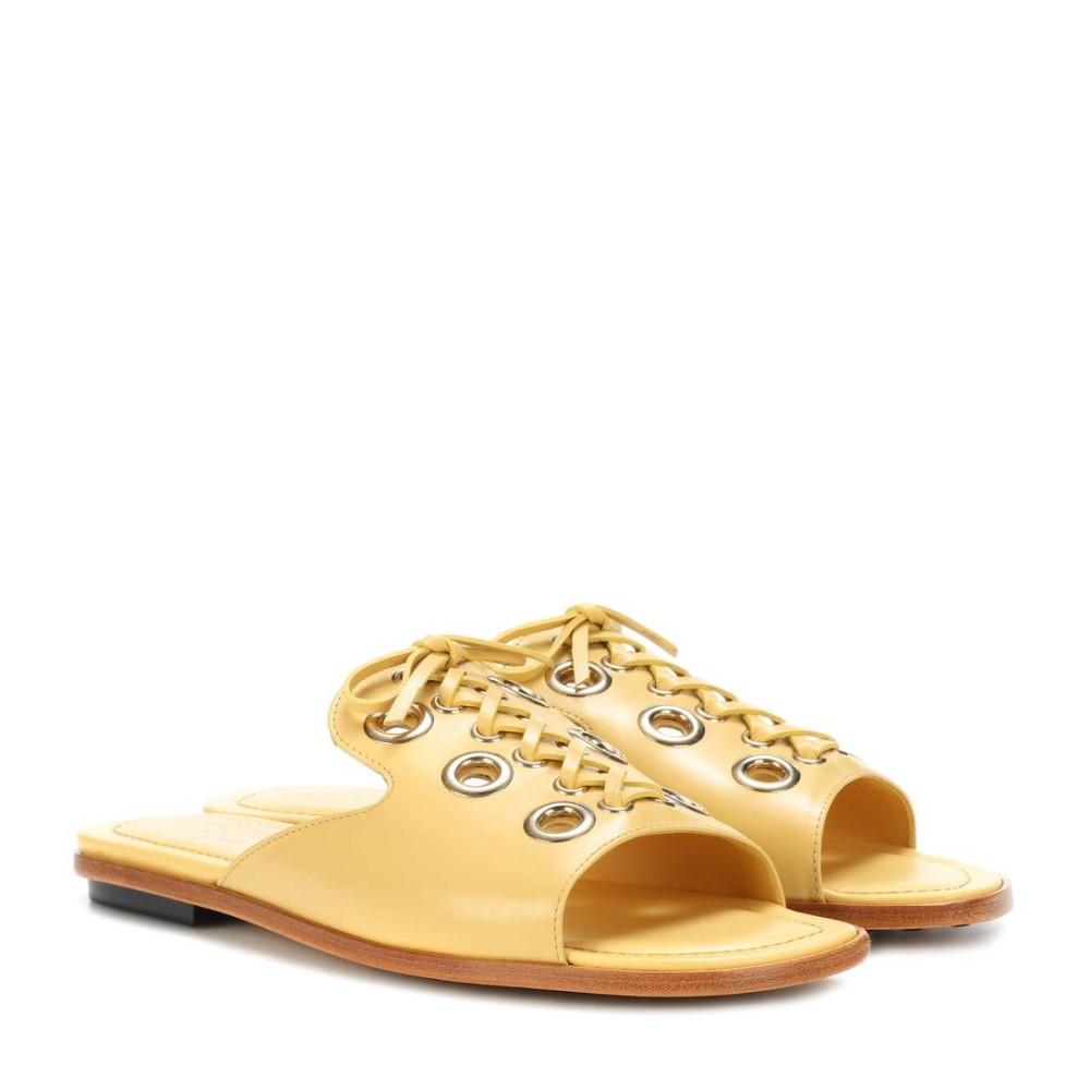 トッズ レディース シューズ・靴 サンダル・ミュール【Leather sandals】Gold