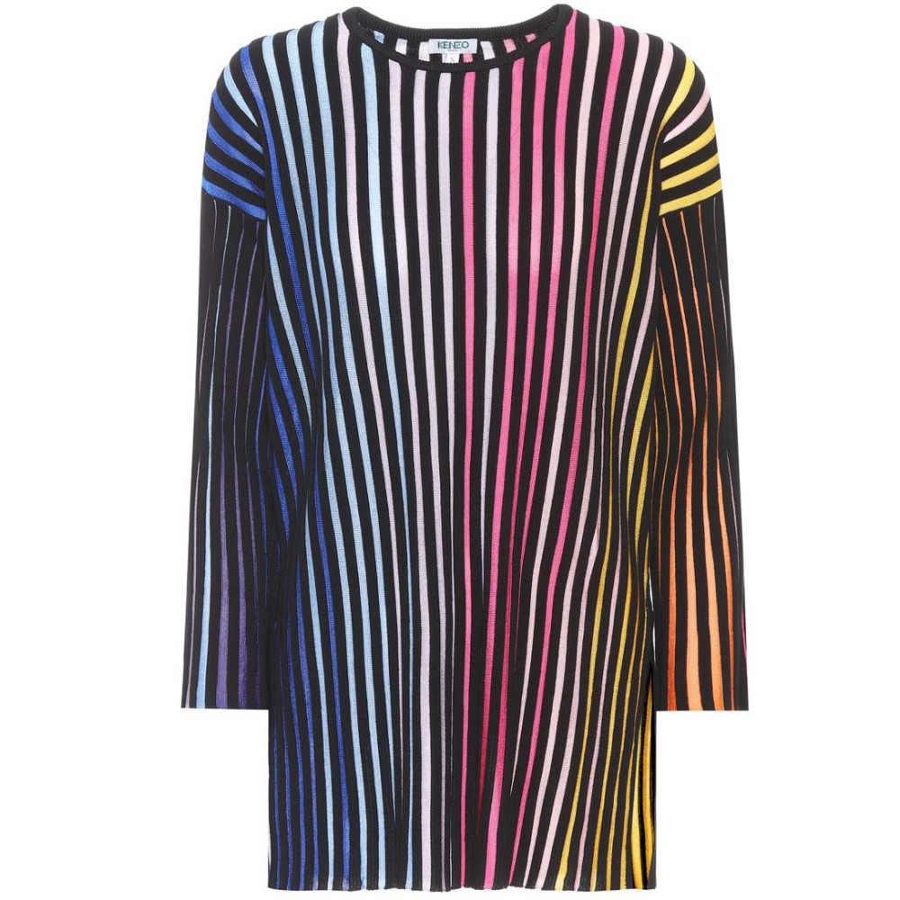ケンゾー レディース トップス ニット・セーター【Striped cotton-blend top】multi