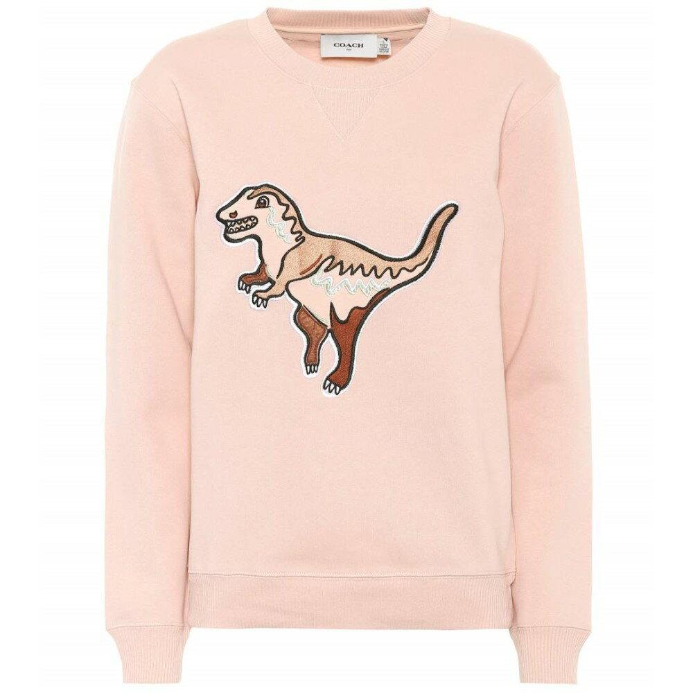 コーチ レディース トップス スウェット・トレーナー【Rexy cotton-blend sweatshirt】Pink