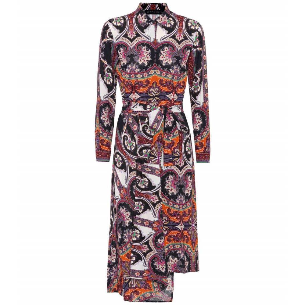 エトロ レディース ワンピース・ドレス ワンピース【Paisley-printed dress】Multicolor