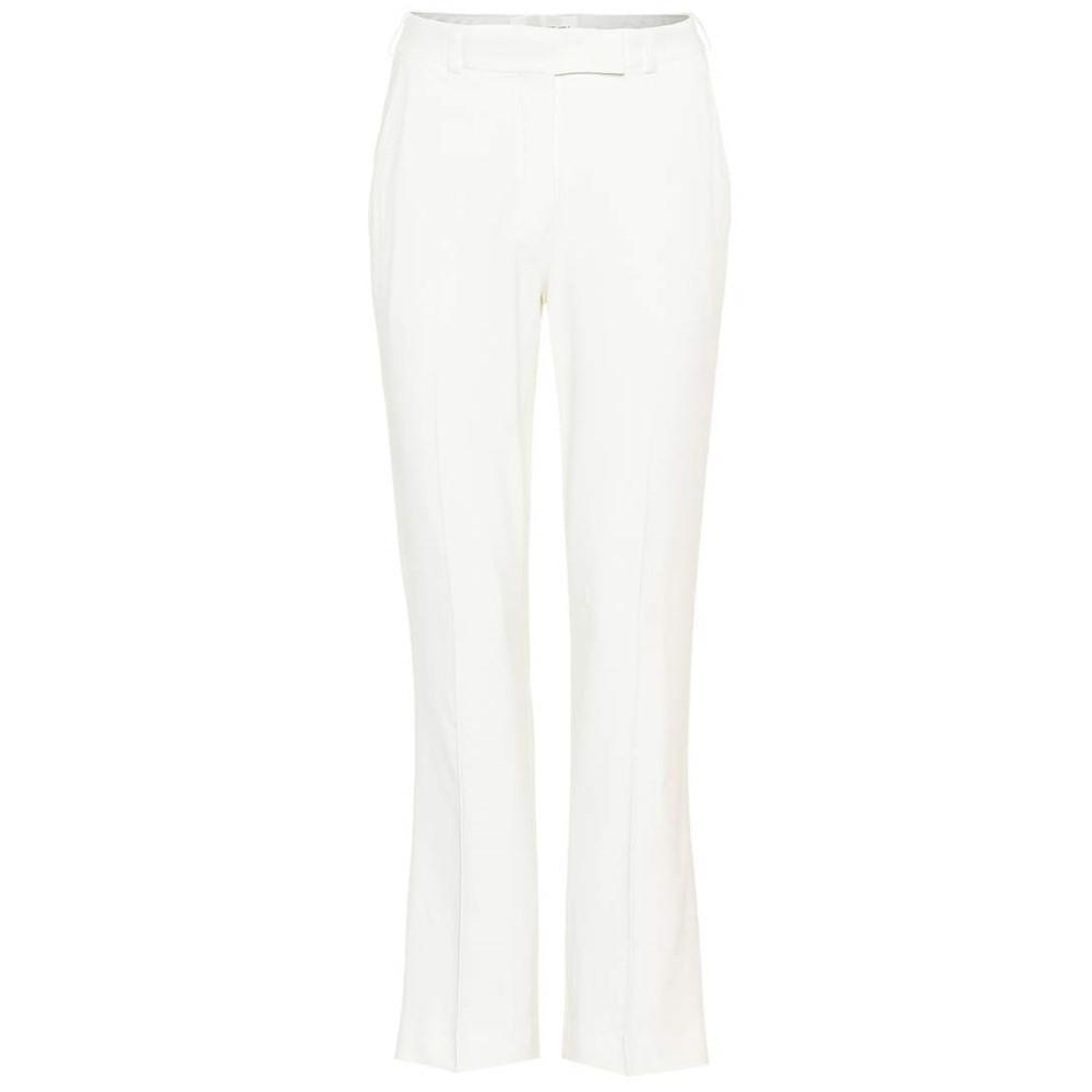 エトロ レディース ボトムス・パンツ【Mid-rise trousers】White