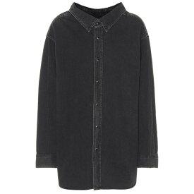 バレンシアガ レディース トップス ブラウス・シャツ【Denim shirt】Vintage Black Wash