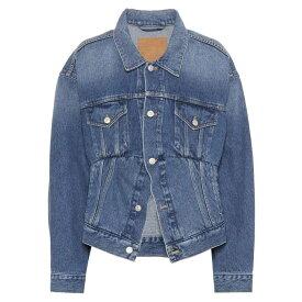バレンシアガ レディース アウター ジャケット【Denim jacket】Double Stonewash