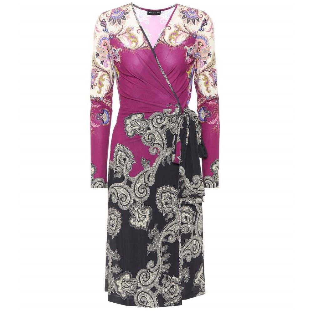 エトロ レディース ワンピース・ドレス ワンピース【Printed wrap dress】