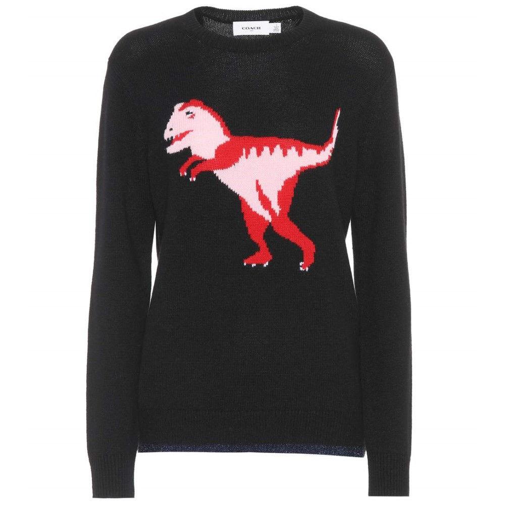 コーチ レディース トップス ニット・セーター【Rexy wool and cashmere sweater】Black
