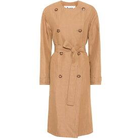 アクネ ストゥディオズ レディース アウター トレンチコート【Anghelica gabardine trench coat】Safari Cam