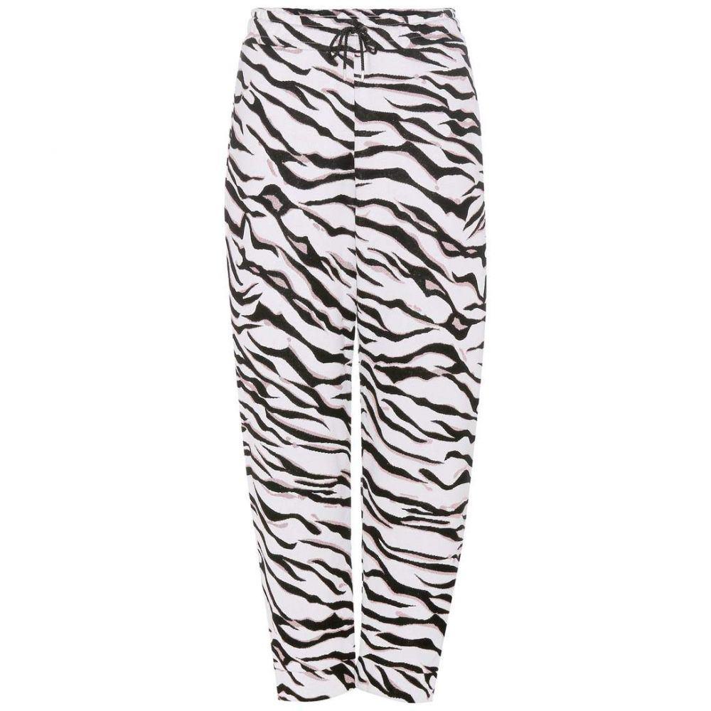 ケンゾー レディース ボトムス・パンツ【Metallic knitted jacquard trousers】White