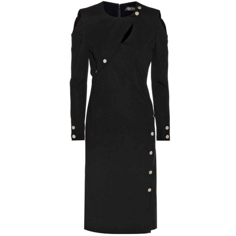 ヴェルサーチ レディース ワンピース・ドレス ワンピース【Long-sleeved dress】Black