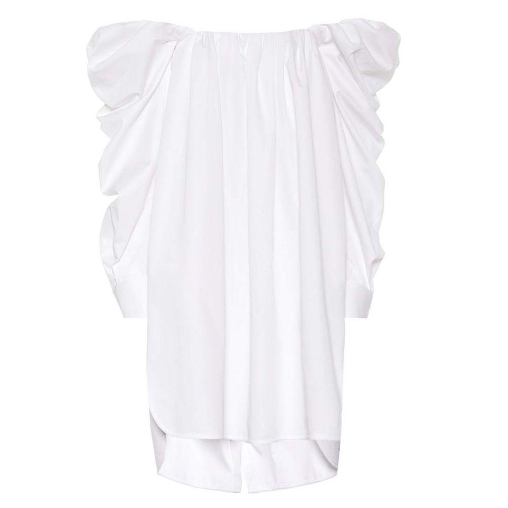 カルバンクライン レディース ワンピース・ドレス ワンピース【Cotton minidress】Optic White