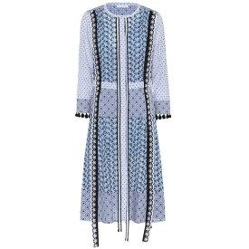 アルチュザラ レディース ワンピース・ドレス ワンピース【Grenelle cotton midi dress】Periwinkle