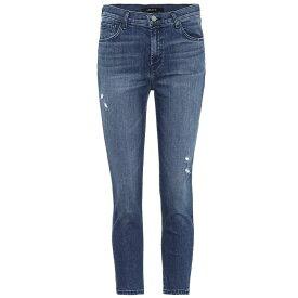 ジェイ ブランド レディース ボトムス・パンツ ジーンズ・デニム【Ruby high-rise cropped jeans】Mystic