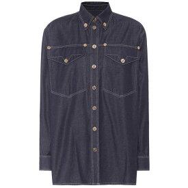 ヴェルサーチ レディース トップス ブラウス・シャツ【Oversized denim shirt】Blue