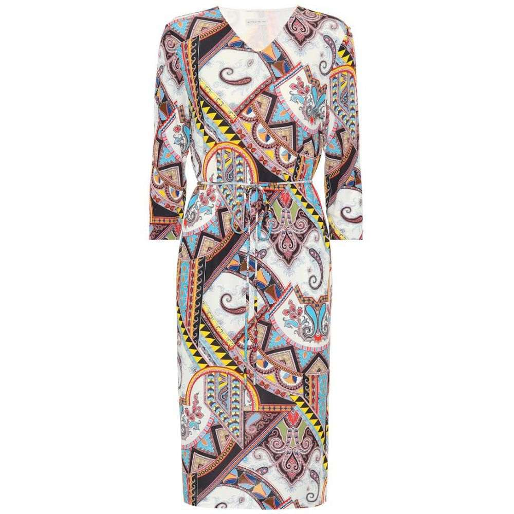 エトロ レディース ワンピース・ドレス ワンピース【Paisley-printed jersey dress】Multicolour