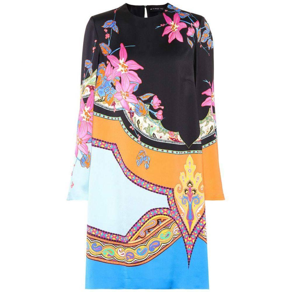エトロ レディース ワンピース・ドレス ワンピース【Printed shift dress】Multicolor