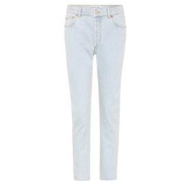 バレンシアガ レディース ボトムス・パンツ ジーンズ・デニム【Cropped jeans】Stone Bleach