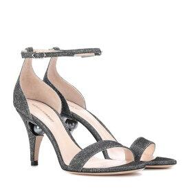 ニコラス カークウッド Nicholas Kirkwood レディース シューズ・靴 サンダル・ミュール【Glitter sandals】Gunmetal