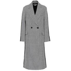 ステラ マッカートニー Stella McCartney レディース アウター コート【Chana wool coat】Ink Ivory