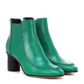 J.W.アンダーソン JW Anderson レディース シューズ・靴 ブーツ【Leather ankle boots】Emerald