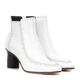J.W.アンダーソン JW Anderson レディース シューズ・靴 ブーツ【Leather ankle boots】White