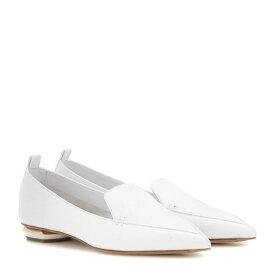 ニコラス カークウッド Nicholas Kirkwood レディース シューズ・靴 ローファー・オックスフォード【Beya Bottalato leather loafers】White