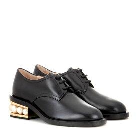 ニコラス カークウッド Nicholas Kirkwood レディース シューズ・靴 ローファー・オックスフォード【Casati embellished leather Derby shoes】Black