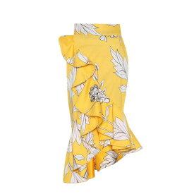 ジョアンナオッティ Johanna Ortiz レディース スカート【Lychee printed stretch cotton skirt】Sunny Yellow