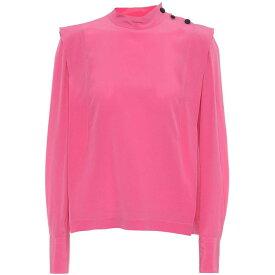 イザベル マラン Isabel Marant レディース トップス【Kelissa silk top】Pink Drop