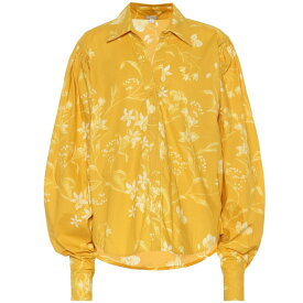ジョアンナオッティ Johanna Ortiz レディース トップス【Chasing The Sun printed cotton top】Dandelion Eccru