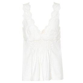 イザベル マラン Isabel Marant レディース トップス ノースリーブ【Wigston sleeveless cotton top】Ecru
