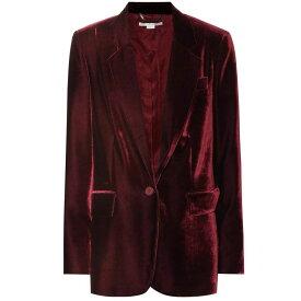 ステラ マッカートニー Stella McCartney レディース アウター スーツ・ジャケット【Nicole velvet blazer】burgundy