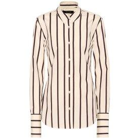 イザベル マラン Isabel Marant レディース トップス ブラウス・シャツ【Uliana striped cotton shirt】White