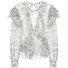 イザベル マラン Isabel Marant レディース トップス ブラウス・シャツ【Muster floral-printed blouse】White