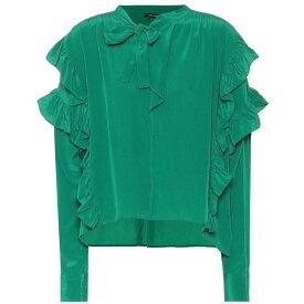 イザベル マラン Isabel Marant レディース トップス ブラウス・シャツ【Libel silk blouse】green