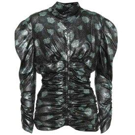イザベル マラン Isabel Marant レディース トップス ブラウス・シャツ【Parman silk-blend blouse】blush green