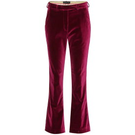 エトロ Etro レディース ボトムス・パンツ スキニー・スリム【Velvet pants】Dark Pink